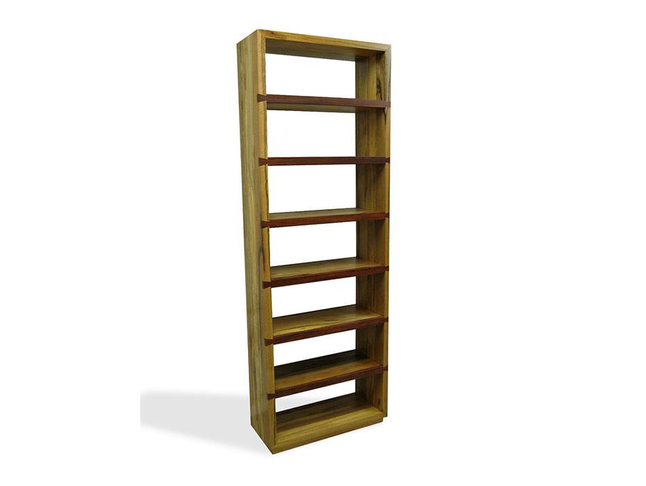 Bookcase Winerack Marri Timber Fine Art