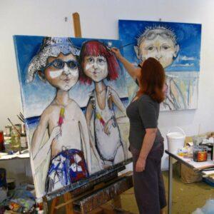 Christine Hingston In Studio 2012