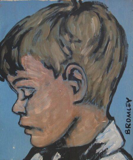 Dbr198 School Boy 26x31cm
