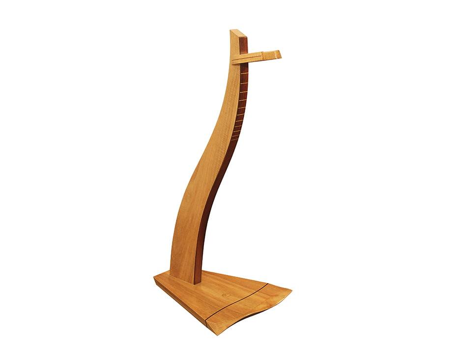designer timber guitar stand fine furniture design fine art paintings jahroc galleries. Black Bedroom Furniture Sets. Home Design Ideas