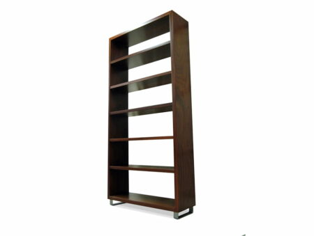 Dry Reef Jarrah Contemporary Bookcase Side