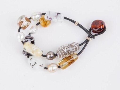Evelyn Henschke 2 Strand Pearl Bracelet