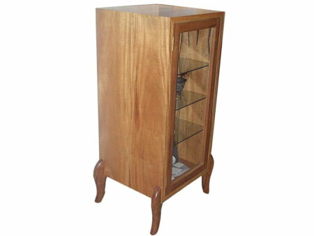 Funky Apollo Marri Timber Display Cabinet