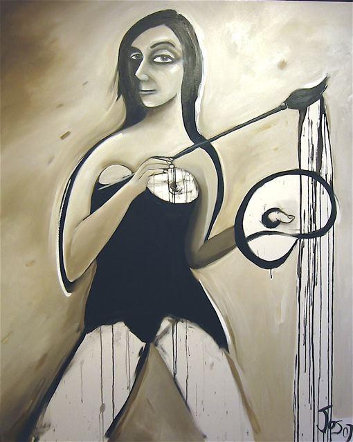 Jos Myers The Painter 137X168Cm