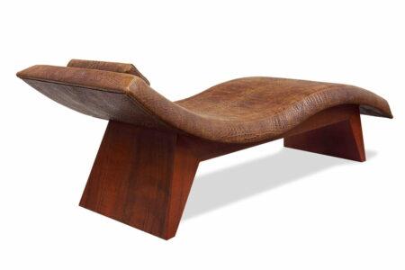 Kimberley Croc Chaise Back