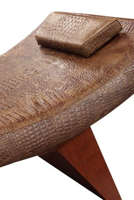 Kimberley Croc Chaise Detail