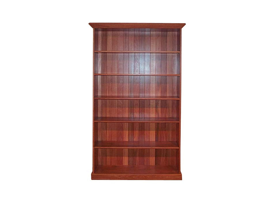 Large Jarrah Bookcase Fine Art