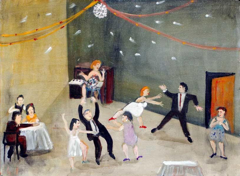 Murray Gill Fussy Dancer