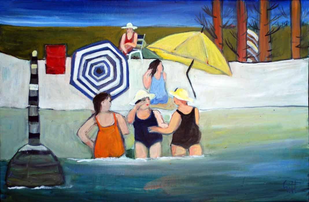 Murray Gill Three Women Cotesloe 2