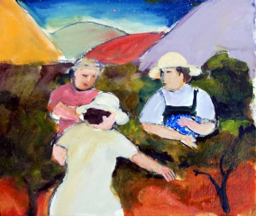 Murray Gill Vineyard In Hills