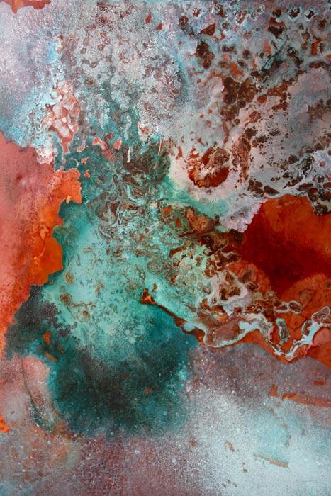 Nebula In Earth 998 X 750 Mm Mixed Media