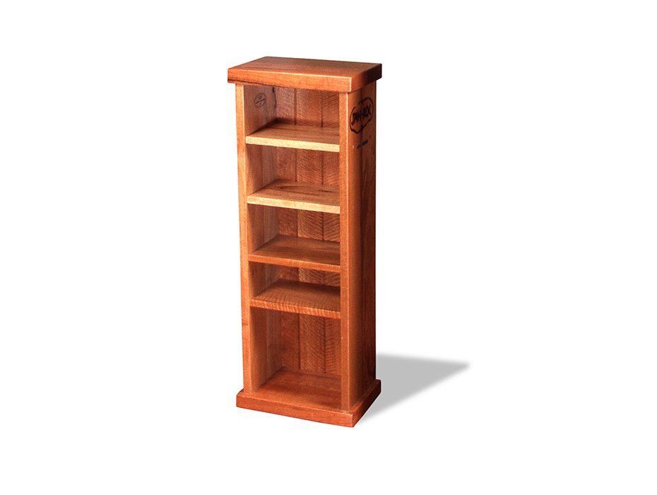 Nook Jarrah Bookcase (Short) Fine Art