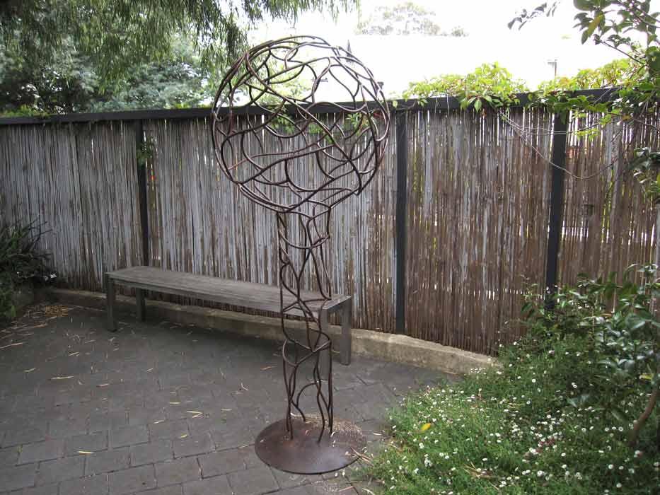 Peter Graham   Globule Metal Sculpture Fine Art