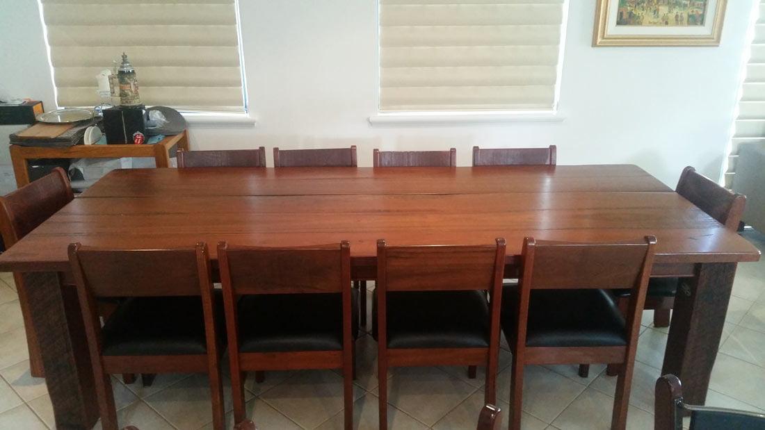 Resale homesteader dining suite fine furniture design