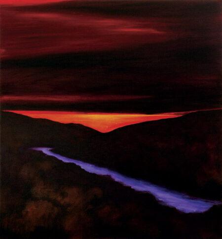 Shaun Atkinson A Thousand Dreams Oil On Canvass 140cm X 150cm