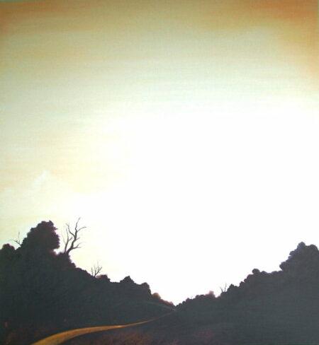 Shaun Atkinson Wallcliffe Rd Journey 140cm X 150cm Oil On Canvas