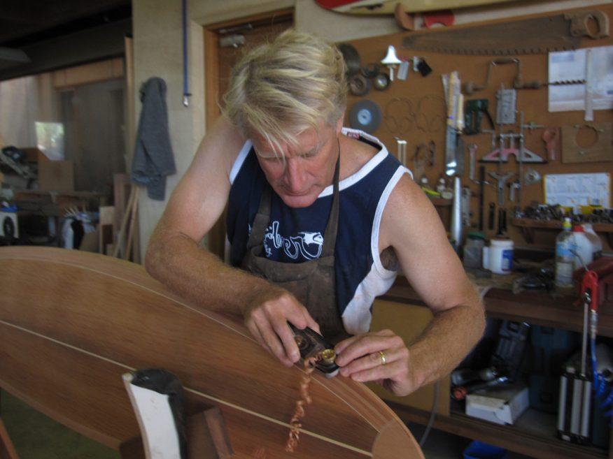 Surfboard 7 6 Gary Shaping Rail At Nose