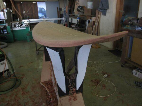 Surfboard 7 6 Deck Rail Shaped