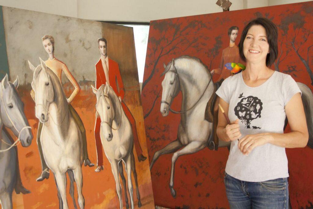 Lauren Wilhelm   Up Close And Personal   Artist Fine Art