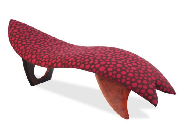 611 Super Fish Chaise Lounge Jarrah Timber
