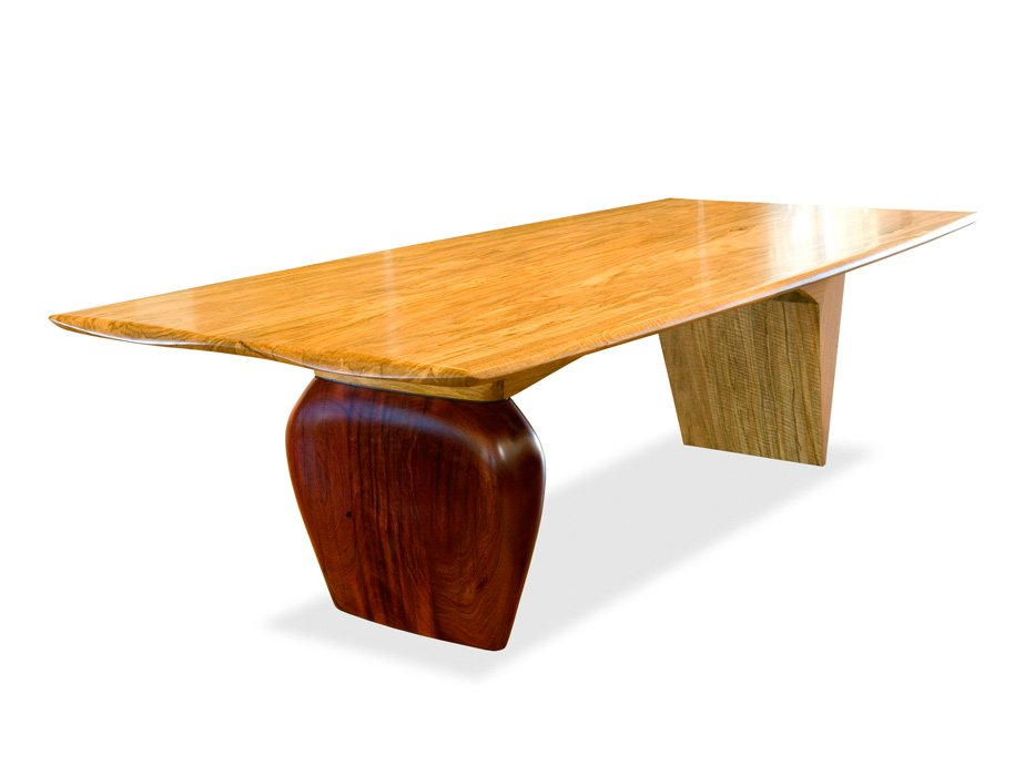 Boab Timber Dining Table Fine Art