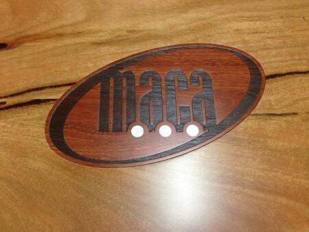 Boardroom Table Maca Detail Of Logo