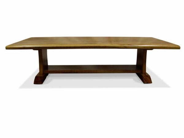 Cellar Marri Timber Coffee Table 1600L X 800W X 400H Side
