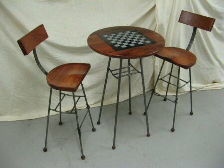 Chess Board Cafe Table Commission