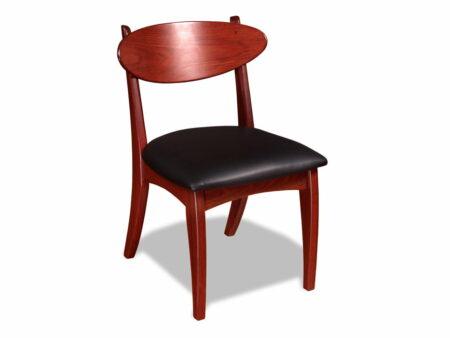 Dance Dining Chair Jarrah Timber