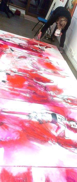 Di Taylor Artist Studio Painting Perfume 7
