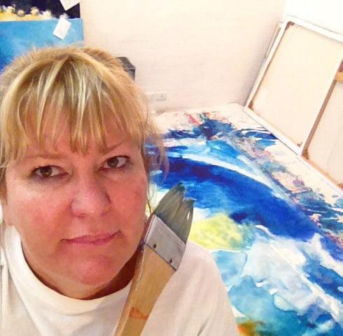 Di Taylor Painting