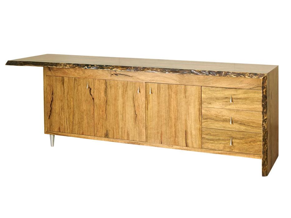 Flow Marri Timber Credenza Fine Art