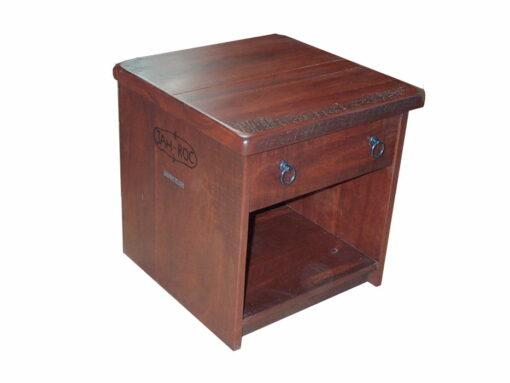 Homesteader Jarrah Bedside Cabinet