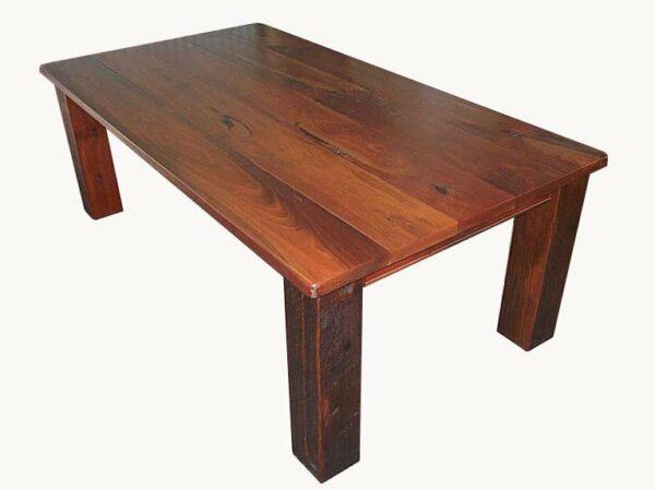 Homesteader Jarrah Dining Table Rustic Finish