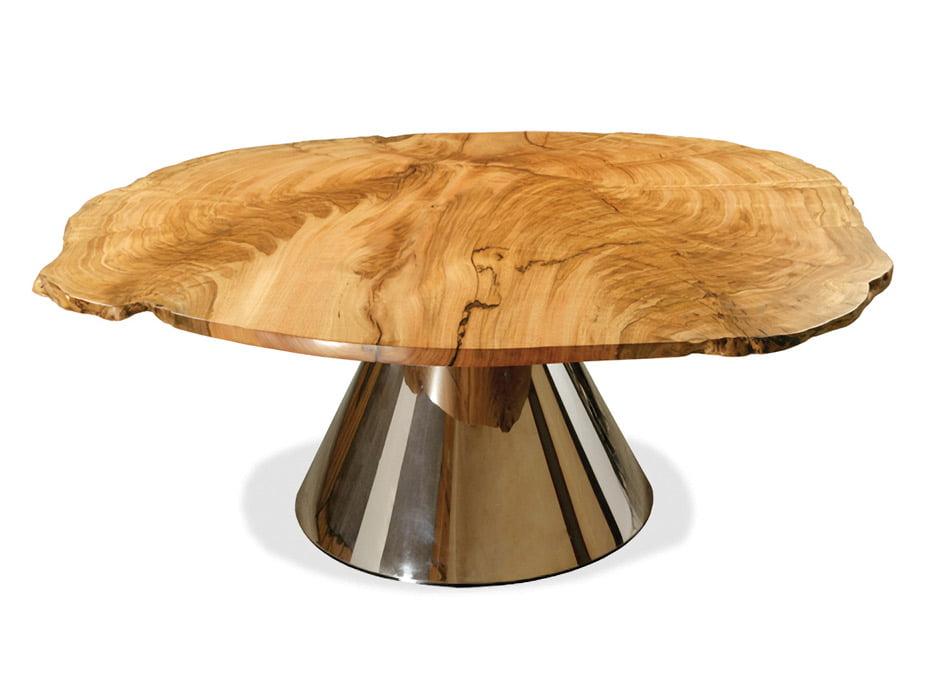 Island Burl Dining Table Fine Art