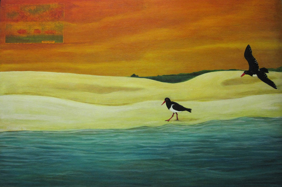 Karen Seaman   January Isobars Fine Art