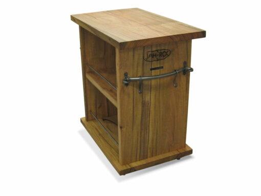 Kitchen Companion Work Bench Marri Timber Side