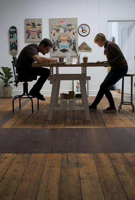 Kyle Hughes Odgers In Studio