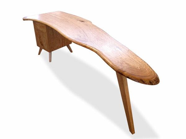 Longreach Bay Desk Blackbutt Timber