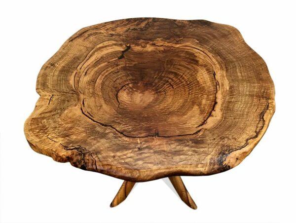Marri Burl Kitchen Table To View