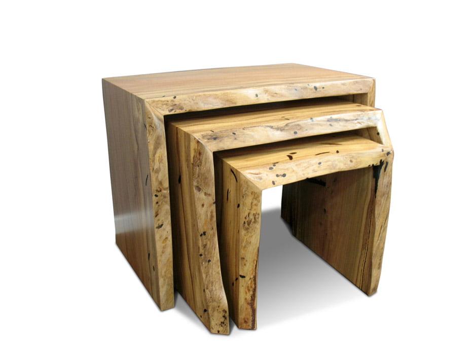 Marri Slab Coffee Table Nest Fine Art