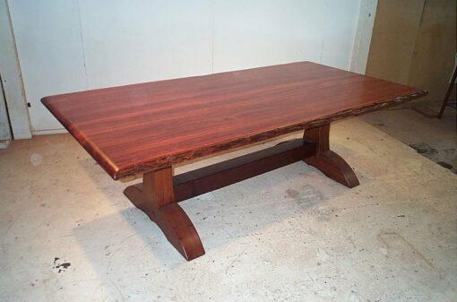 Murchison Dining Table Jarrah Timber No Metal Scrolls