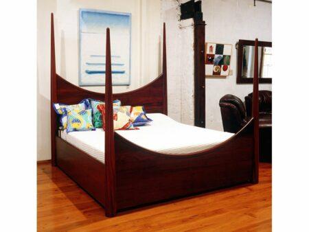 Pencil Post Timber Bed 2 Jarrah