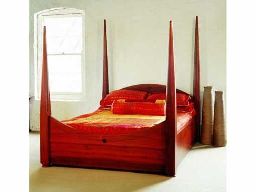 Pencil Post Timber Bed