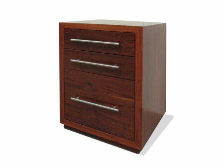 Reef Jarrah Filing Cabinet