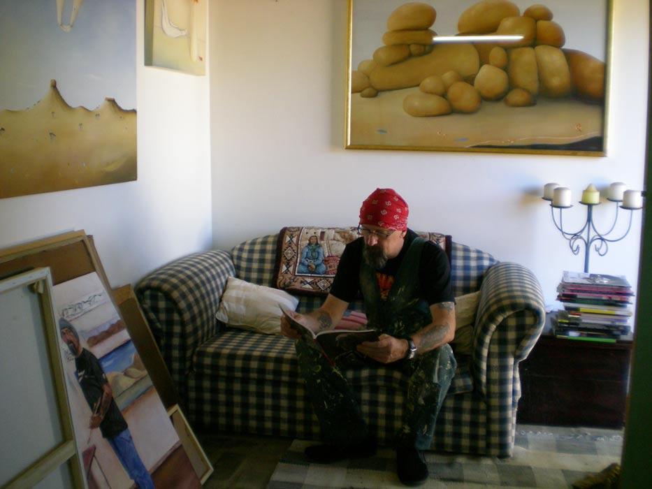 Shane Moad Artist Studio Inspiration