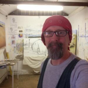Shane Moad Artist Studio Workspace