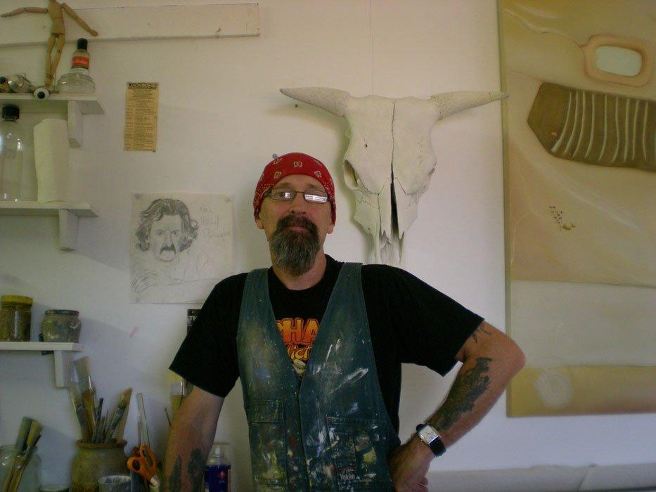 Shane Moad Artist Studio