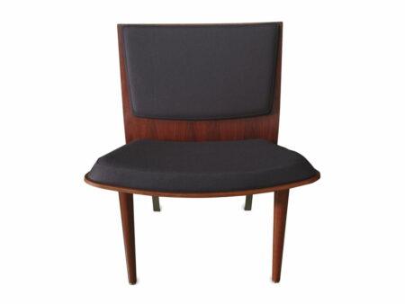 Silhouette Lounge Chair Jarrah Timber