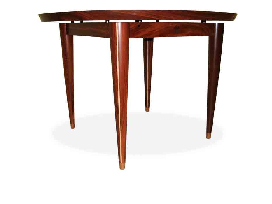 Silhouette Round Jarrah Table Fine Furniture Design